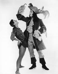 Tony Winners: Mary Martin & Cyril Richard in Peter Pan