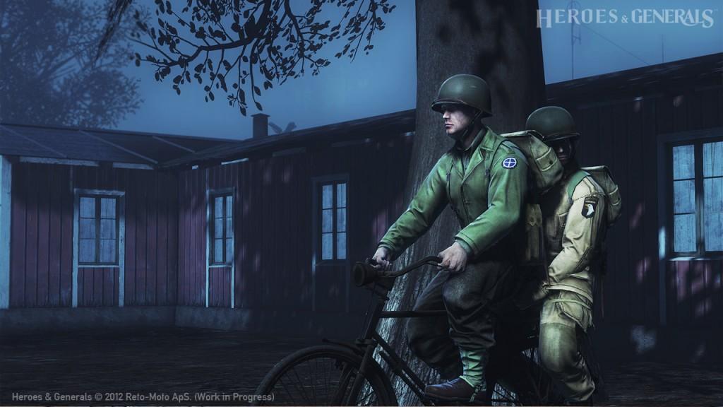 Ride into combat...