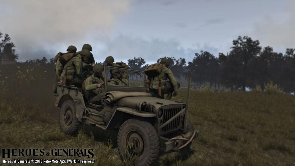 Jeep Teamwork