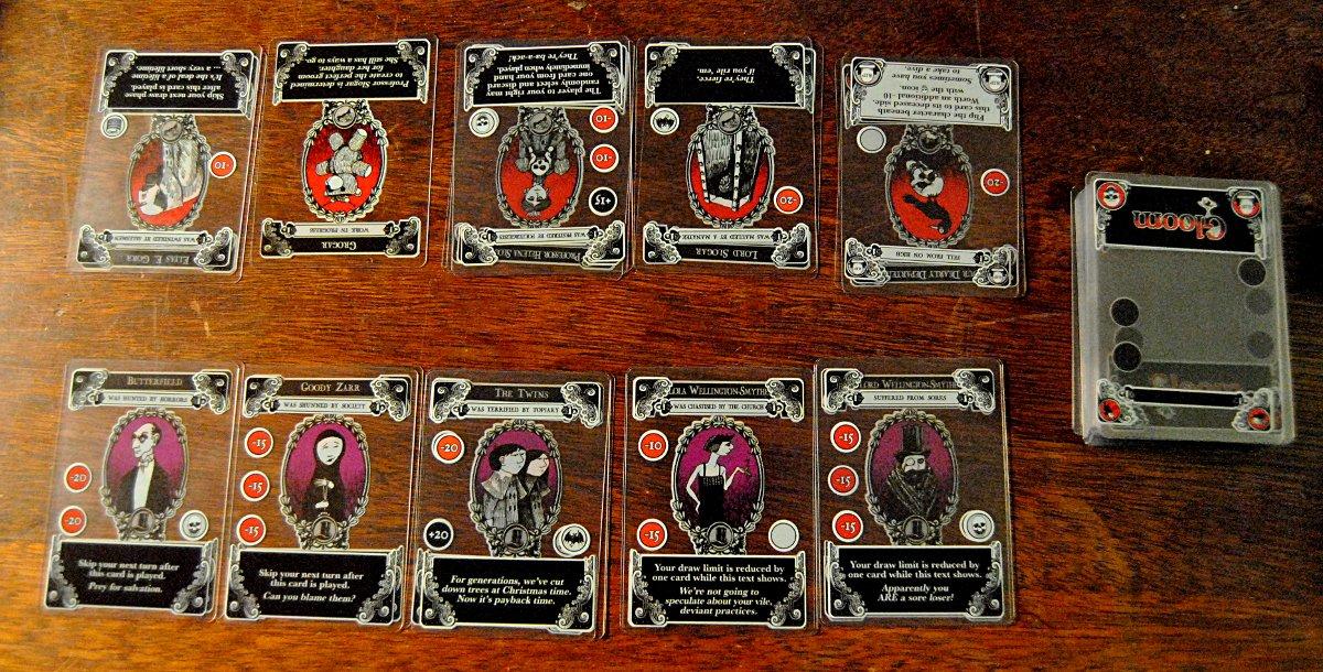 Gloom - The Card Game - Geek Pride