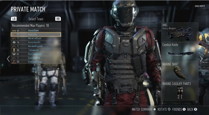 The virtual lobby feature is pretty cool