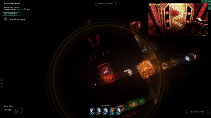 Pictured: 90% of what you will see in Space Hulk