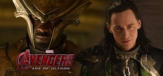 Heimdall & Loki in Avengers: Age of Ultron