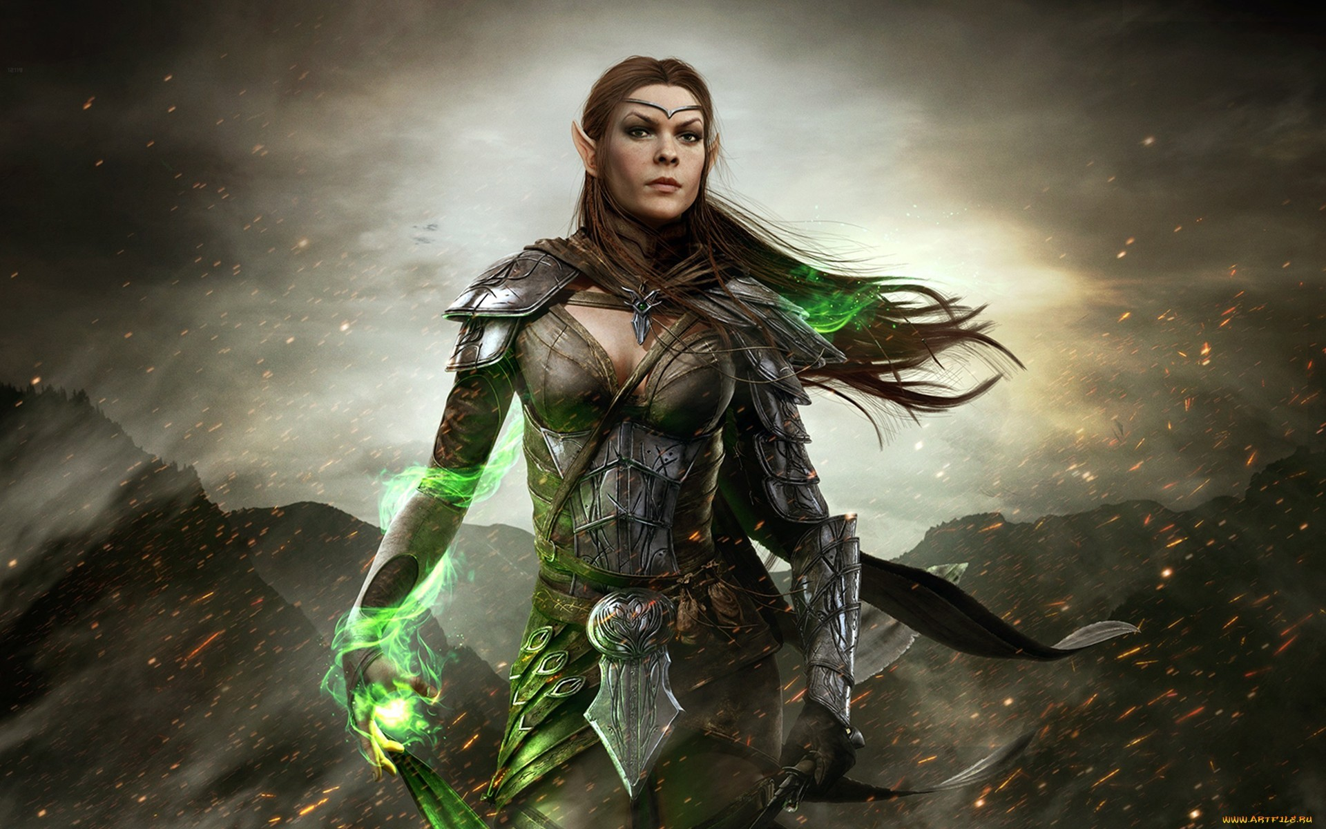 Elf woman of elder scrolls online nackt gallery