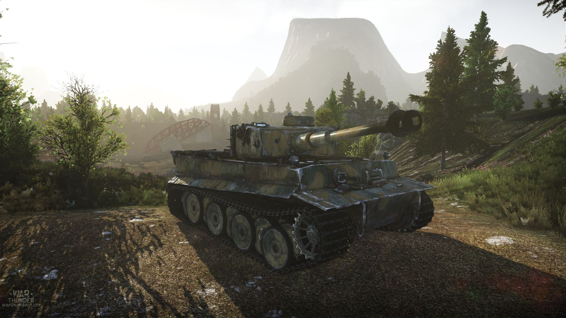 The mechanics of tank driving is geared towards realism