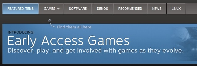 Steam Early Access Games