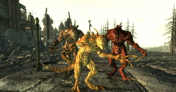 Fallout Deathclaws