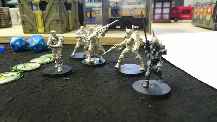 My squad were ready!