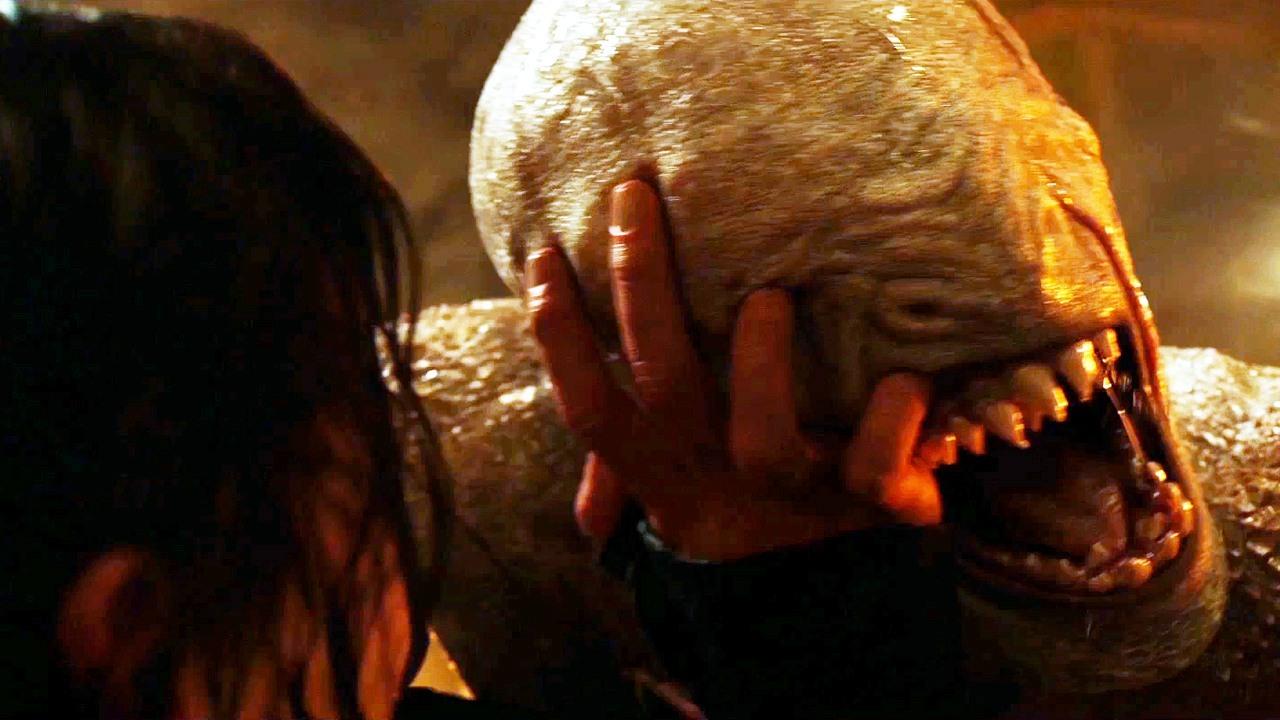 Katniss' first blind date since Peeta wasn't going well.