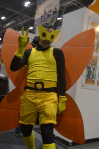 The author dressed as Henchman 21 at MCM October 2014