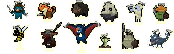 Tap Heroes Enemies