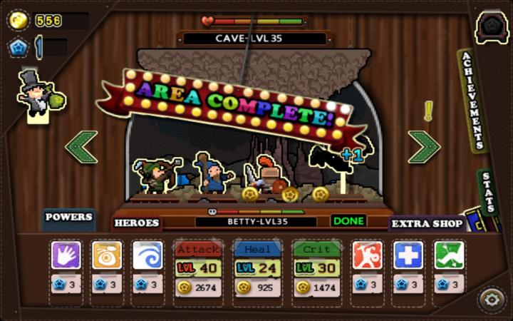 Tap Heroes Gameplay