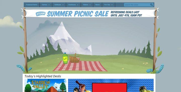 Steam-Summer-Picnic-Sale-2016