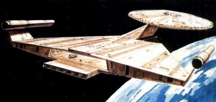 Ralph McQuarrie's Enterprise - Star Trek Discovery