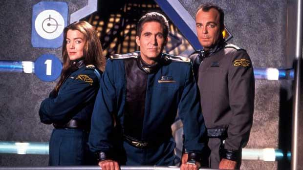 Babylon 5 - Ivanova, Sinclair and Garibaldi