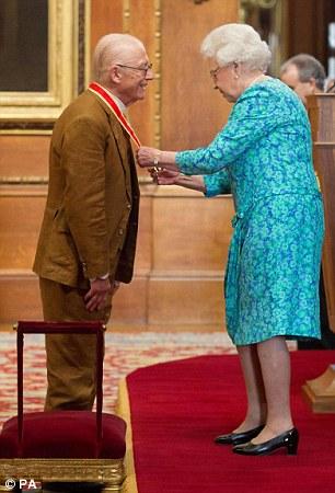 John Hurt and the Queen