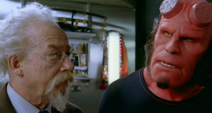John Hurt in Hellboy