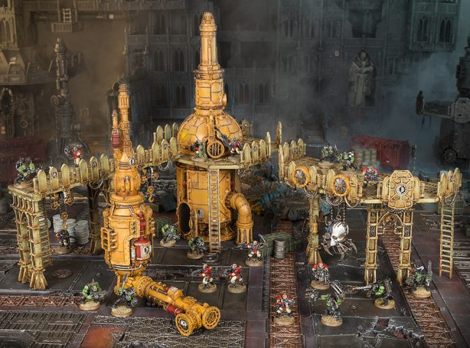 Armageddon Boxed Game Scenery from Games Workshop