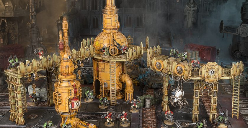 Armageddon Boxed Game Scenery