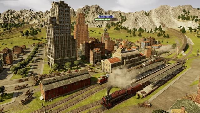 Railway Empire - Sacramento