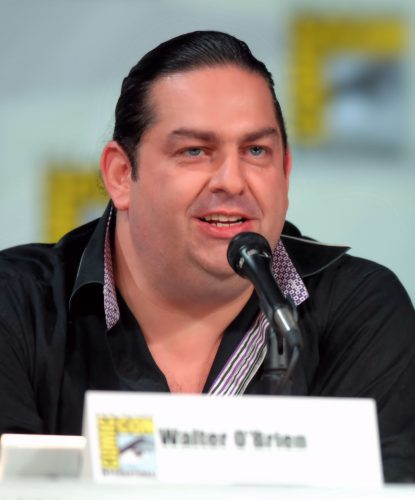 Real Life Walter O'Brien at Comic Con So why did 2014's Scorpion stand out to me?